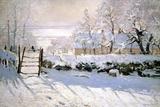 De ekster, 1869 Gicléedruk van Claude Monet