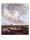 Bleaching Ground in the Countryside Near Haarlem, 1670 Giclee Print by Jacob Isaaksz. Or Isaacksz. Van Ruisdael