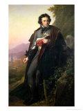 Charles-Artus de Bonchamps 1824 Giclée-tryk af Anne-Louis Girodet de Roussy-Trioson