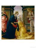 The Visitation, 1491 Giclée-tryk af Domenico Ghirlandaio