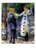 The Swing, 1876 Giclee Print by Pierre-Auguste Renoir