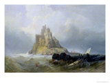 St. Michael's Mount, Cornwall Giclee Print by William Clarkson Stanfield