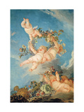 Autumn, from a Series of the Four Seasons in the Salle Du Conseil Giclee Print by Francois Boucher