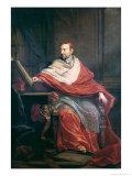 Cardinal Pierre de Berulle Giclée-vedos tekijänä Philippe De Champaigne