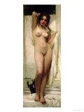 Woman Bathing, 1901 Giclée-tryk af Karoly Lotz
