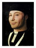 Portrait of an Unknown Man Giclée-tryk af  Antonello da Messina