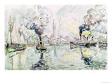Cherbourg, 1931 Giclee Print by Paul Signac