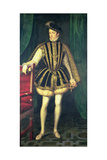 King Charles IX of France Giclee Print by Francois Clouet
