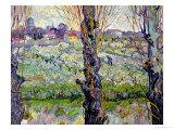 View of Arles, c.1889 Giclée-Druck von Vincent van Gogh