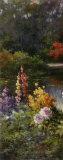 Im Sommergarten Kunstdrucke von T. C. Chiu