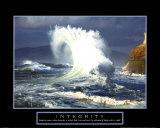Integritet: Bølge Posters
