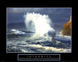 Integrität: Welle, Englisch Kunstdrucke