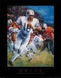 American Football Kunstdrucke von T. C. Chiu