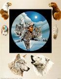 Krieger im Mondlicht Kunst von Gary Ampel