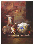 Still Life with Fruit Prints by Li Wang