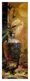 Oriental Vase with Bamboo Art by Li Wang