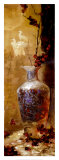 Oriental Vase with Berries Posters by Li Wang