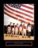 Pride: American Flag Stampe