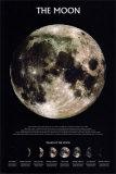 Der Mond Kunstdrucke