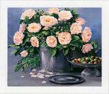 Flowers and Apples II Poster von Karin Valk