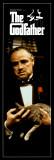 Filmposter uit The Godfather met Engels citaat Print
