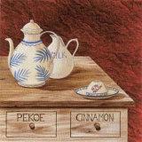 Valentine Tea Poster von J.l. Vittel