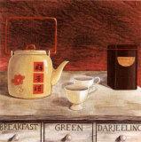 Scented Tea Kunstdrucke von J.l. Vittel
