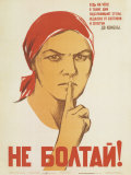 Don't Babble! Keep Your Tongue Behind Your Teeth Prints by N.Denisov, N.Vatolina