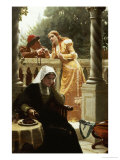 A Stolen Interview, 1888 Giclee Print by Edmund Blair Leighton