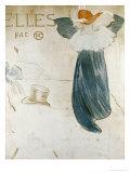 Frontispiece Pour Elles Lámina giclée por Henri de Toulouse-Lautrec