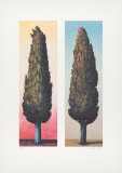 2 Zypressen Links, 1999 Limited Edition by Folkert Rasch