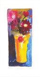 Vase jaune Édition limitée par Nel Whatmore