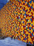 The Wall VI Fotografisk trykk av  Christo