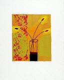 Yellow Glass Vase, 2000 Limitierte Auflage von Russel Baker