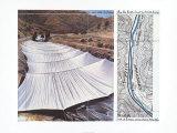 Over the River VII: Above Kunstdrucke von  Christo