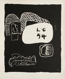 Entre-Deux No. 17 Samlarprint av Le Corbusier,