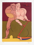Picasso et la Femme Neoclassique Limited Edition av Valerio Adami