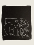 Entre-Deux No. 10 Sammlerdrucke von  Le Corbusier