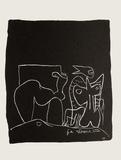 Entre-Deux No. 10 Samlarprint av Le Corbusier,