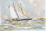 Marine III Collectable Print by Urbain Huchet