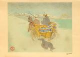 La charette anglaise Lámina coleccionable por Henri de Toulouse-Lautrec