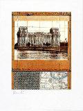 Reichstag XII - Signed Reproduction pour collectionneur par  Christo