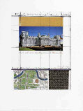 Wrapped Reichstag XIII Affiches par  Christo