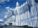 Reichstag - Vorderseite Bei Tag - Signed Reproduction pour collectionneur par  Christo