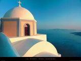 Thira - Santorini Posters af Ch. Hermes