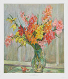 Gladioles Collectable Print by Richard Weiss