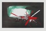 Composition, 1958 Samlarprint av Georges Mathieu
