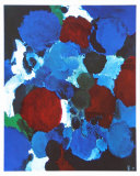 Ontario Blue Posters af Ernst  Wilhelm Nay