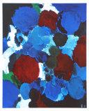 Ontario Blue Pôsters por Ernst  Wilhelm Nay