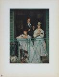 On the Balcony Samlertryk af Edouard Manet